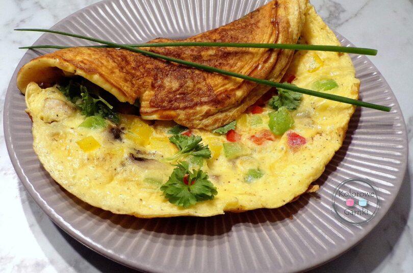 omlet z Warzywami – Przepis