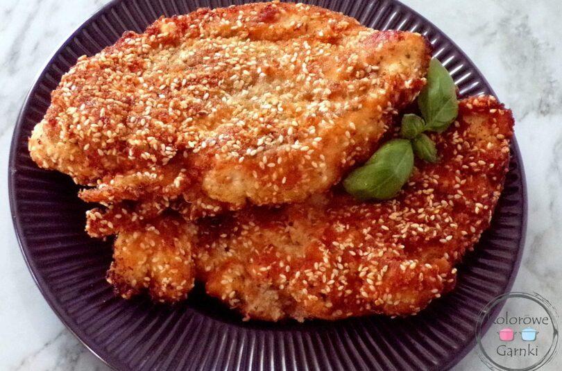 Pierś z kurczaka w sezamie – Przepis