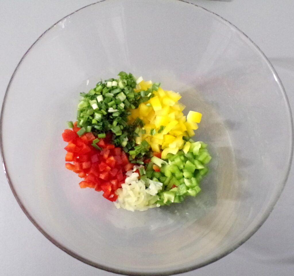 domowa sałatka kuskus