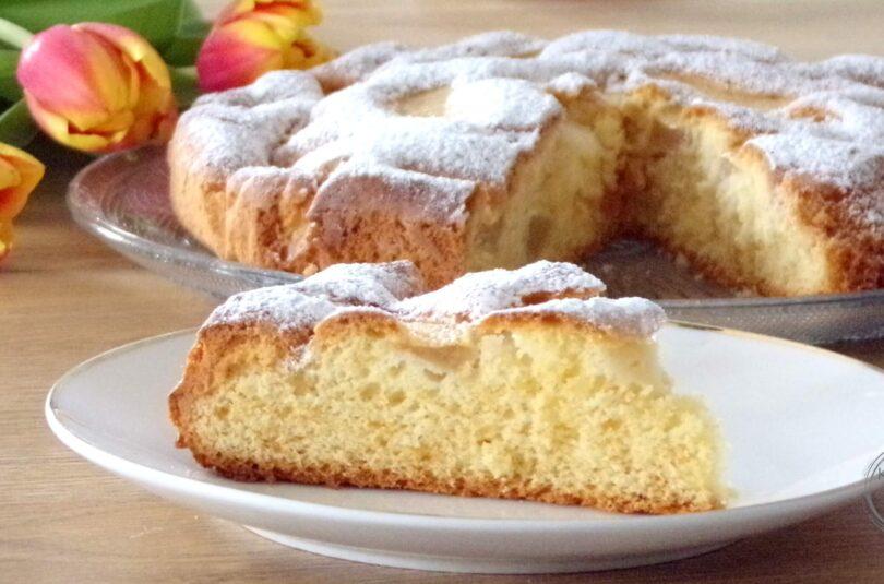 Ciasto z jabłkami na oleju