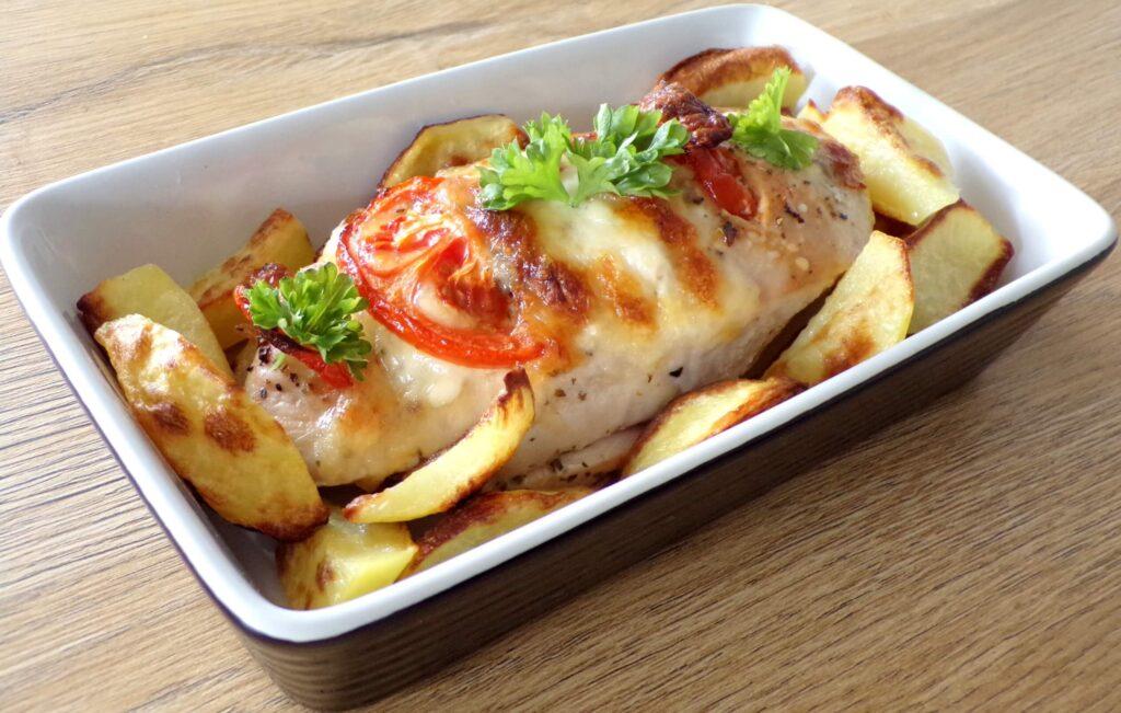 kurczak z mozzarelllą