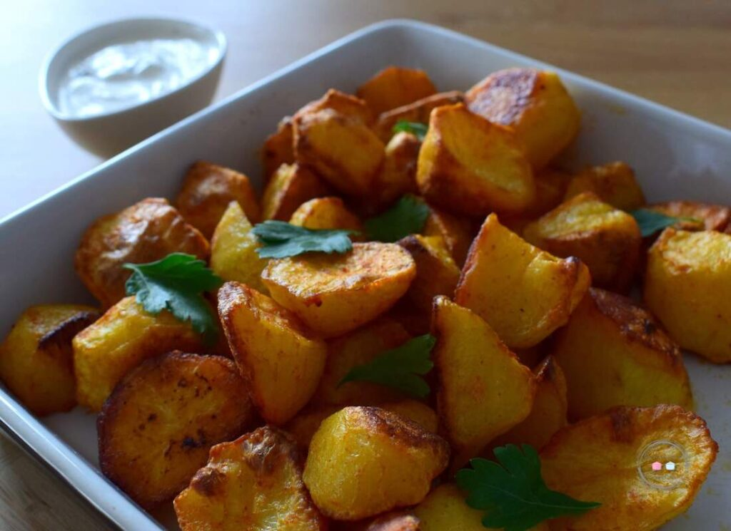 Ziemniaki pieczone w papryce