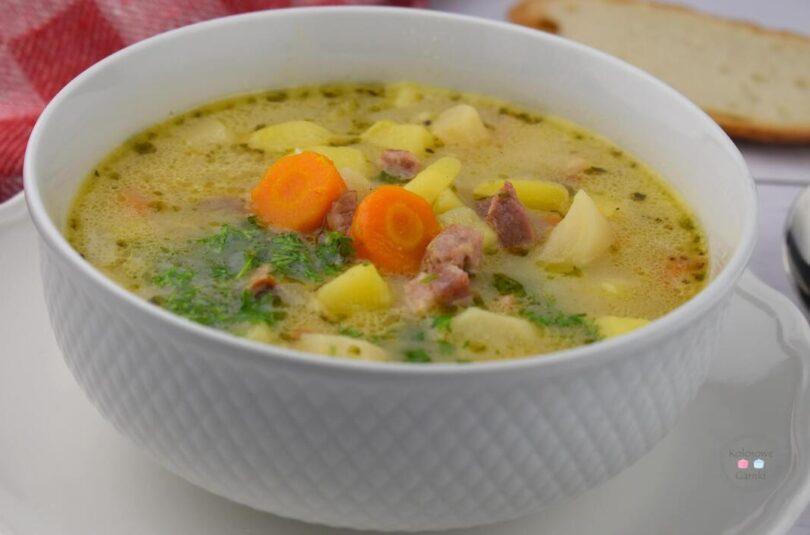 Zupa ziemniaczana. przepis.